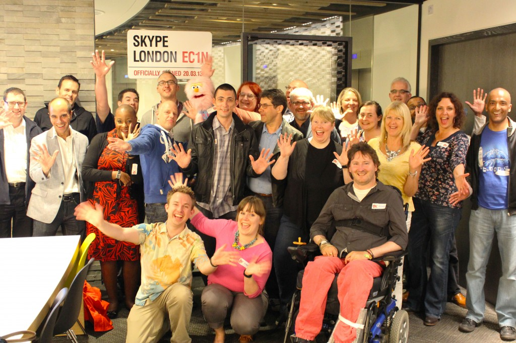 Skype London UK Podcasters Meetup