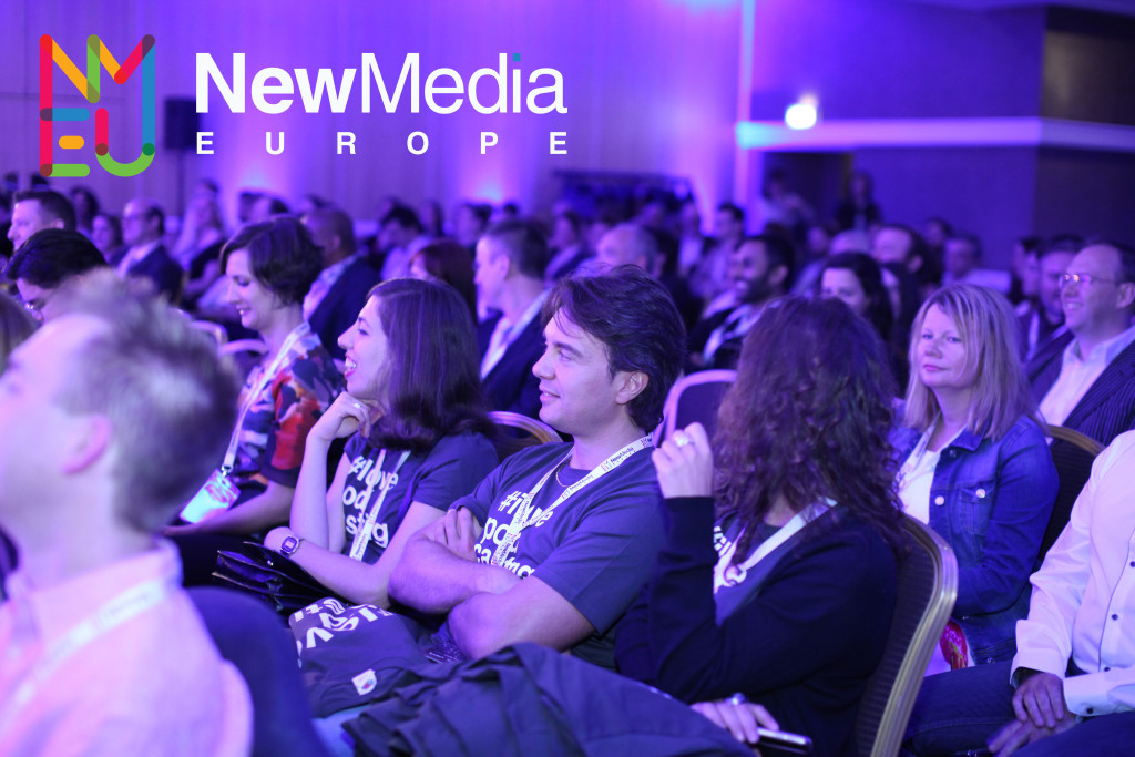 Speak at New Media Europe 2016