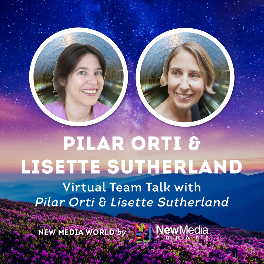Pilar Orti and Lisette Sutherland