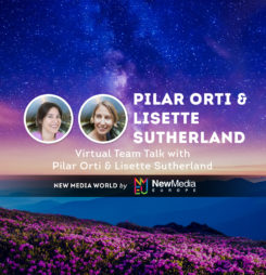 Virtual Team Talk with Pilar Orti and Lisette Sutherland