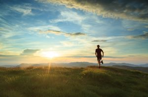 Running helps fight depression