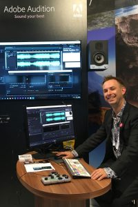 Mike Russell, Adobe Audition - IBC Amsterdam 2017